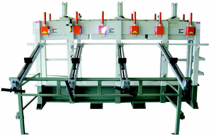 Stile Press Clamp Rack DOOR MACHINERY