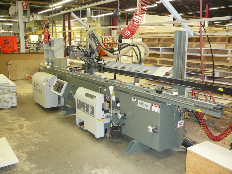 2005 Virtek LaserMC Wall Panel Cutting & Marking System WALL PANEL MACHINERY
