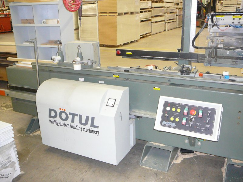 Alliance Dotul Door 3 DOOR AND JAMB MACHINERY