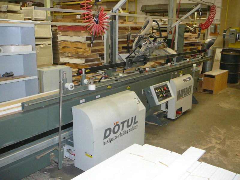 Alliance Dotul Door 4 USED JAMB MACHINERY