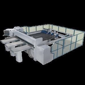 horizontal panel saw
